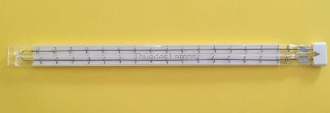 IR W 2 650x223 - Infrared Lamp Replacements twin tube Ceramic Refletor